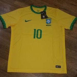 Nike Brazil Neymar Jr Jersey